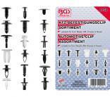 KFZ-Befestigungsclip-Sortiment für Ford, Mazda, GM, Chrylser & Nissan, 415-tlg.
