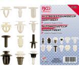 KFZ-Befestigungsclip-Sortiment für Peugeot & Citroen, 345-tlg.