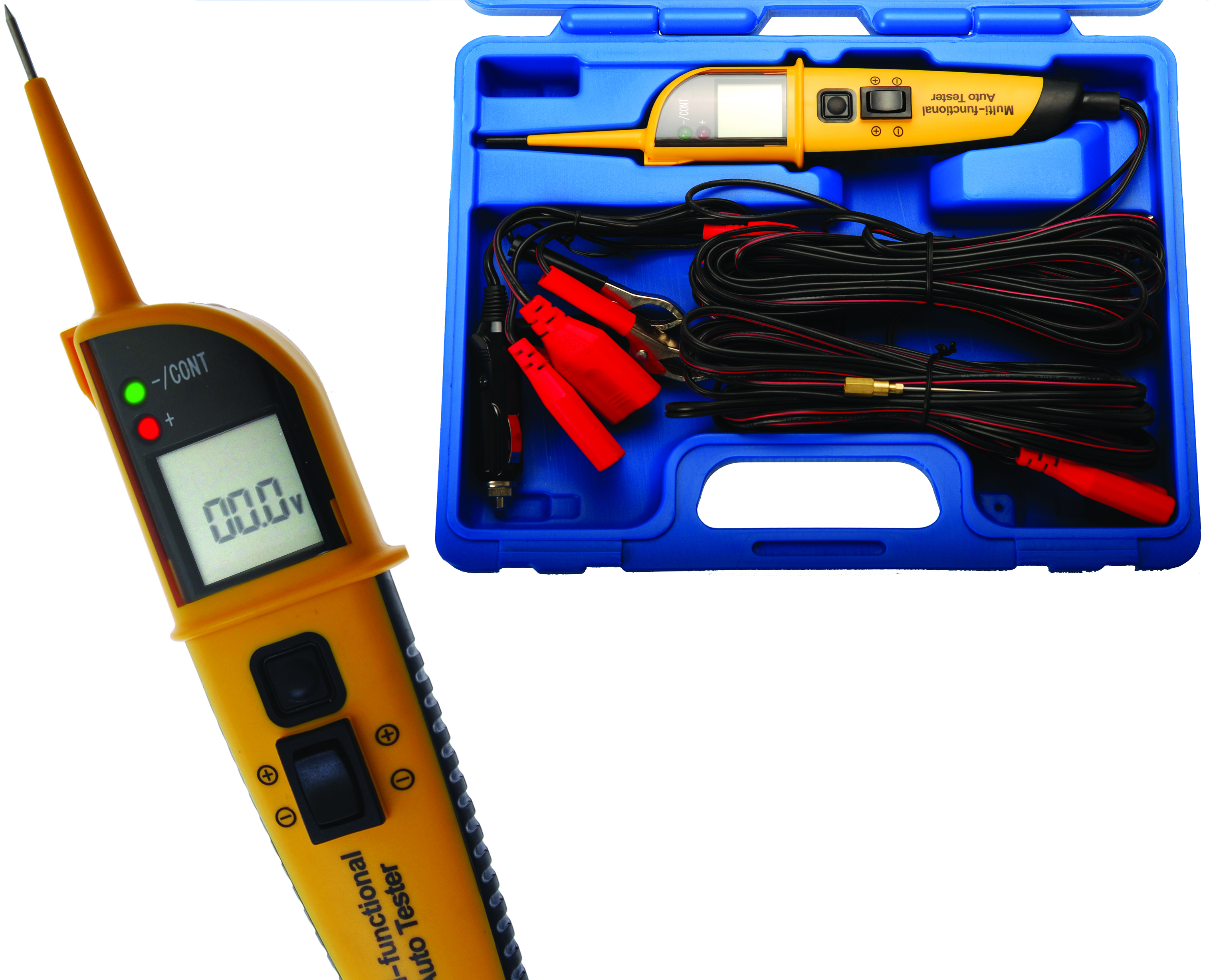 Auto Circuit Tester : Bgs germany automotive led multimeter voltage tester